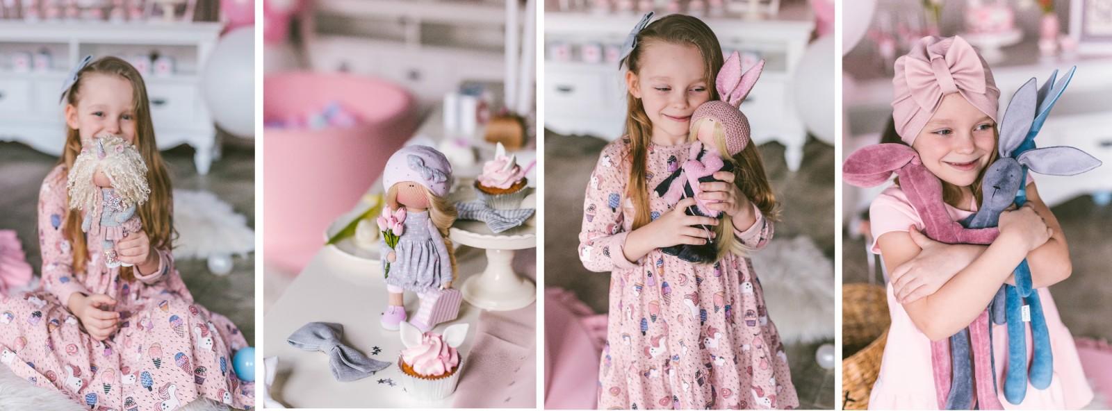 rankų darbo lėlės ir žaislai